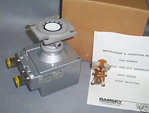 Ramsey Granuflow Flow Detector DTR 131Z NIB __K62.1 ...