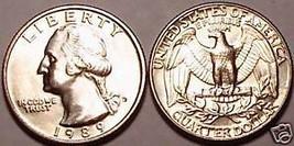 1989-D GEM UNCIRCULATED WASHINGTON QUARTER~~FREE SHIP~~ - $3.63