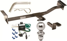 Complete Trailer Hitch Pkg W/ Wiring Kit For 1991 1998 Toyota Tercel Class I New - $219.01