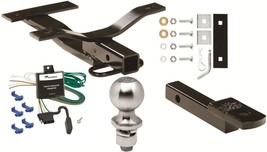 COMPLETE TRAILER HITCH PACKAGE W/ WIRING KIT FOR 2000 SATURN LS LS1 LS2 ... - $170.77