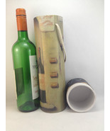 Wine Tube Container Caddy Gift Box height 34cm Diameter 8cm Approx - $7.39