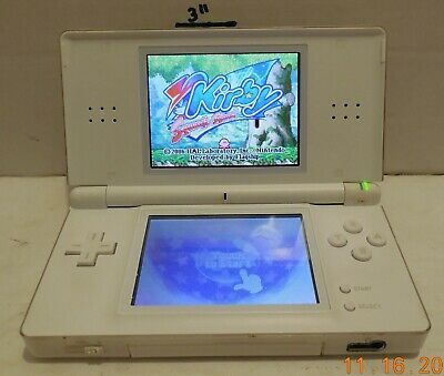 Primary image for Nintendo DS Lite White Handheld Video Game Console