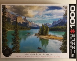 Jigsaw Puzzle 1000 Pieces Maligne Lake Jasper National Park Alberta 19 x 26 Inch - $6.00