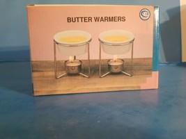 VINTAGE CERAMIC BUTTER WARMERS SET.NIB*A5* - $18.69