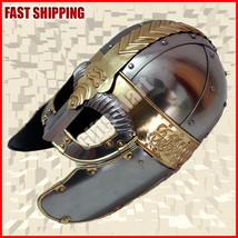 Medieval Roman Centurion Helmet Gladiator Costume - $86.00