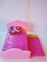 Dora the Explorer Dollhouse Furniture Trundle Bed - $9.00
