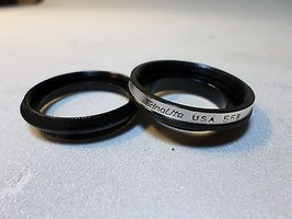 Ednalite #558 Series V or Series 5 adapter & retaining ring w 26.9mm thr... - $3.64