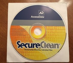 Access Data - SecureClean 4.0 - Permanently Eliminate Individual Files -... - $9.40