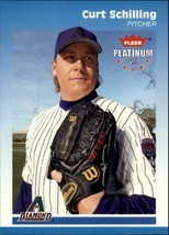 2002 Fleer Platinum #60 Curt Schilling - $1.95