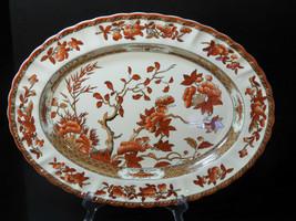"Spode Indian Tree 14 1/2"" Oval Platter - Never Used - New Mark - $128.24"