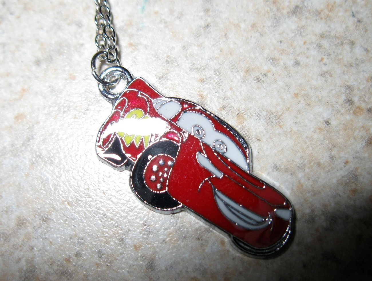 787 cars necklace