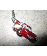 NECKLACE & CHARM CHILD DISNEY LIGHTNING MC QUEE... - $7.99