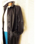 Brown Leather Coat, The Limited Vintage Womens ... - $115.00