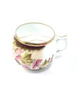 Antique Victorian Pink Hibiscus Vintage Floral ... - $48.00