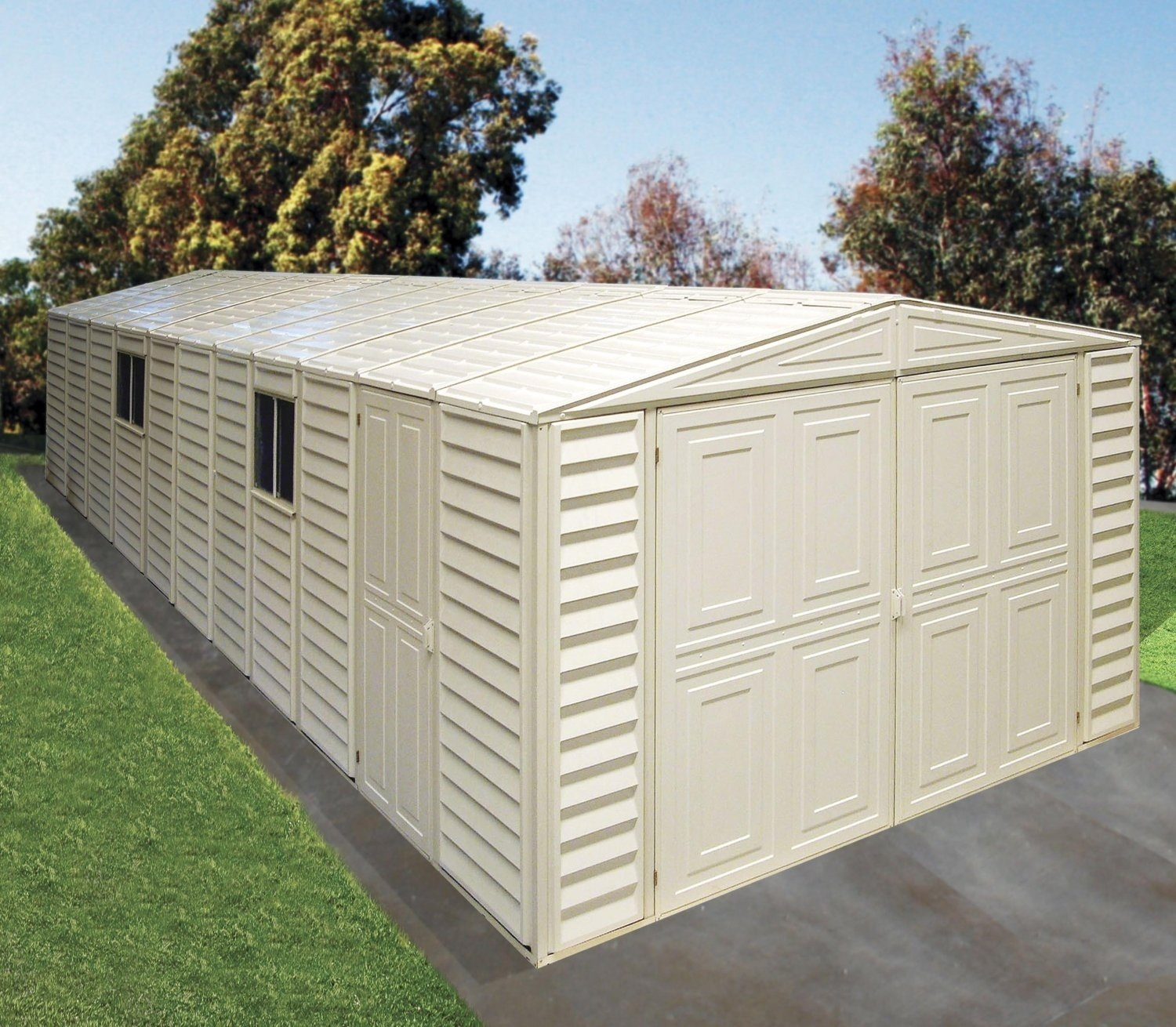 Shed Garage Storage Outdoor Building Car Garden Backyard
