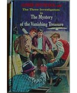 Three Investigators MYSTERY VANISHING TREASURE glossy hardcover Alfred H... - $20.00