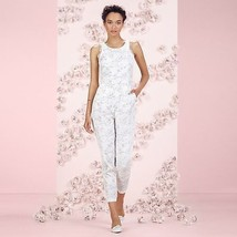 NEW! LC Lauren Conrad Elegant Lace White Gray J... - $84.95