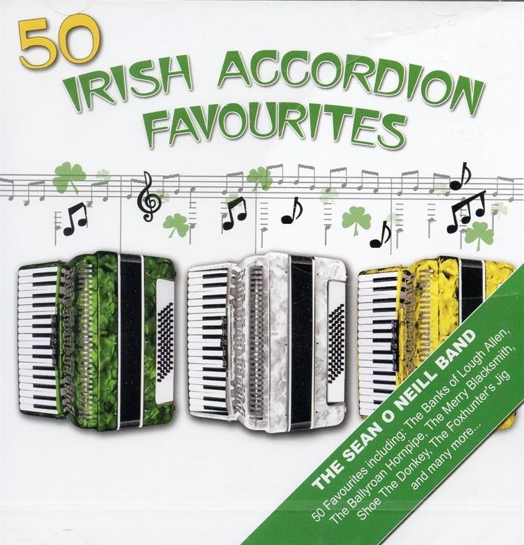 50 irish accordion favorites cd