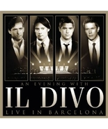 AN EVENING WITH IL DIVO LIVE IN BARCELONA CD/DVD by II Divo - $25.95