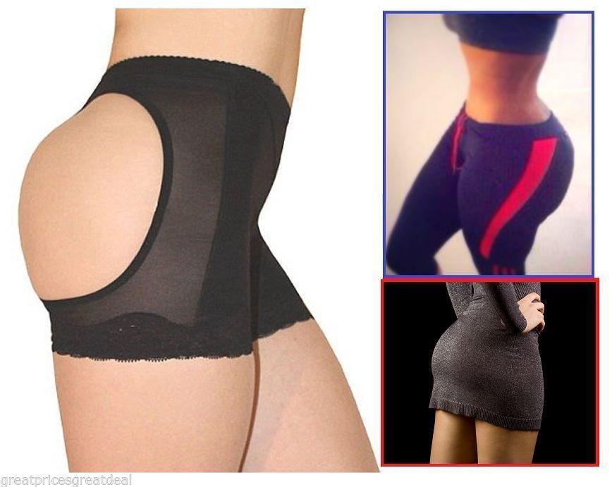 Booty hip enhancer invisible lift butt lifter shaper push up bottom boyshorts sexy shapewear panties briefs