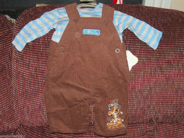 Disney 2pc Tigger Snow Cool Outfit Size 3/6 months Boy's NEW LAST ONE - $24.99