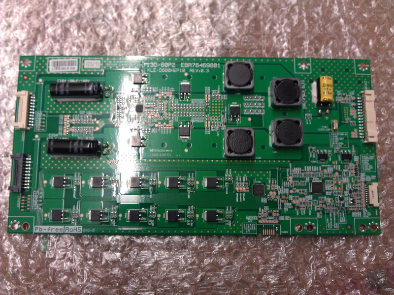 EBR76469801 LED Driver Board From LG 60LA7400-UA.BUSULHR LCD TV