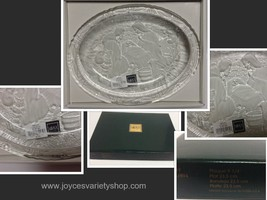 "MIKASA Nativity Plaque Crystal Plate Christmas NIB Germany 9.25"" - $23.99"