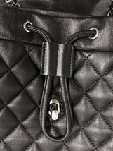 100% AUTHENTIC CHANEL 2017 BLACK QUILTED LAMBSKIN URBAN SPIRIT BACKPACK SHW image 10