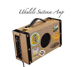 Luna SA 5 Ukulele Suitcase 5 Watt AC/DC (battery) Amp - New with AC adap... - $95.79