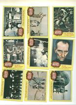 Vintage Topps Star Wars Gum Cards Orange/Yellow - $11.00