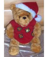 "Disney Winnie Pooh Plush 13"" Musical Light-Up Holiday NightShirt Bear - $11.99"