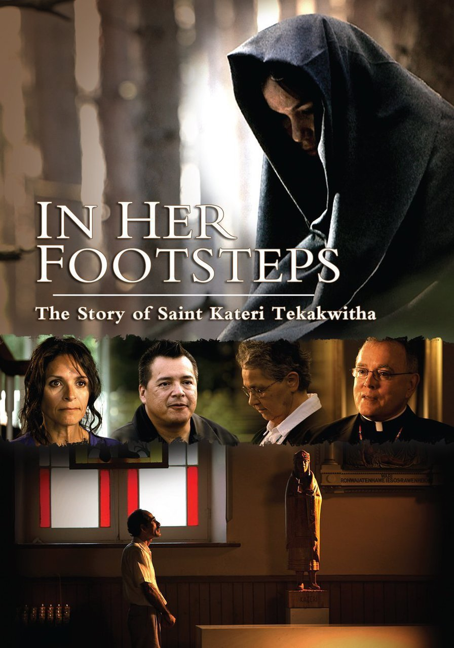 In her footsteps   story of saint kateri tekakwitha   dvd