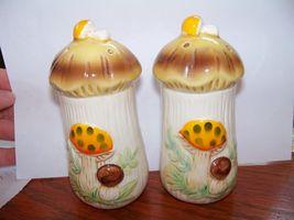 Vintage Sears Roebuck Mushroom Salt & Pepper Shakers 1976 EUC - $39.99