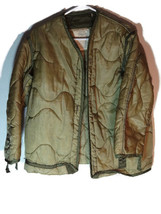 Liner, Cold Weather Coat, Mans Small 1971 polyester batting , nylon outer - $5.00