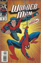 Marvel Comics WONDER MAN & Spiderman 28 Jan - $3.95