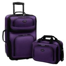 Travelers Choice US Traveler Rio Expandable Carry-On Luggage Set, 2-Pcs ... - $116.39