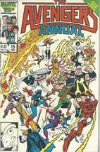 THE AVENGERS Marvel 25th Anniversary Giant Sized Annual 1986 Comic Book - $4.95
