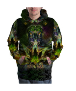 Ganja Marjuana Cannabis Trippy Psychedelic Full... - $40.99 - $51.05