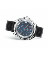 Vostok Komandirskie 211942 Russian Mens Military Wrist Watch EMERCON Dar... - $37.17