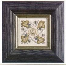 CLEARANCE Dizzy Busy Bees Teenie Tweenie cross stitch chart Sweetheart Tree - $4.50