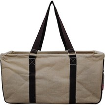 Solid Color Jute Utility Bag-Khaki - $37.61