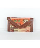 rug Wallet,Hand Made Kilim,Vintage Kilim Wallet, Leather Wallet , rug Purse - $59.00