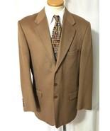 ING LORO PIANA Men's Camel 100% Cashmere Blazer... - $274.39
