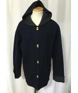 LAUREN Ralph Wms Navy Charcoal Gray Wool Blend ... - $34.29