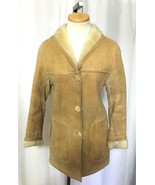 Vintage CUSTOM Made Wms Sheepskin Shearling Jac... - $195.99