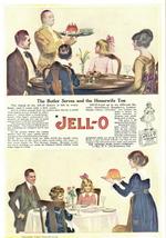1938 Jello Jell-O Butler Serving Dessert print ad - $10.00