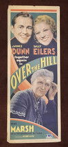 * OVER THE HILL (1931) U.S. Insert Poster with Art Deco Design Henry Kin... - $150.00