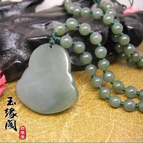 Free Shipping - Tibetan Buddhism , perfect AAA Grade Natural dark Green Jadeite