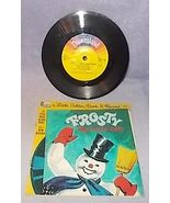 Little Golden Book and Record Disneyland Frosty the Snow Man 1972 - $5.95