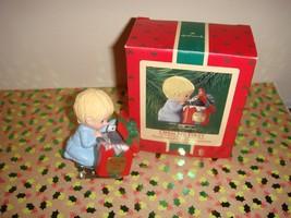 Hallmark 1986 Open Me First Ornament - $9.99